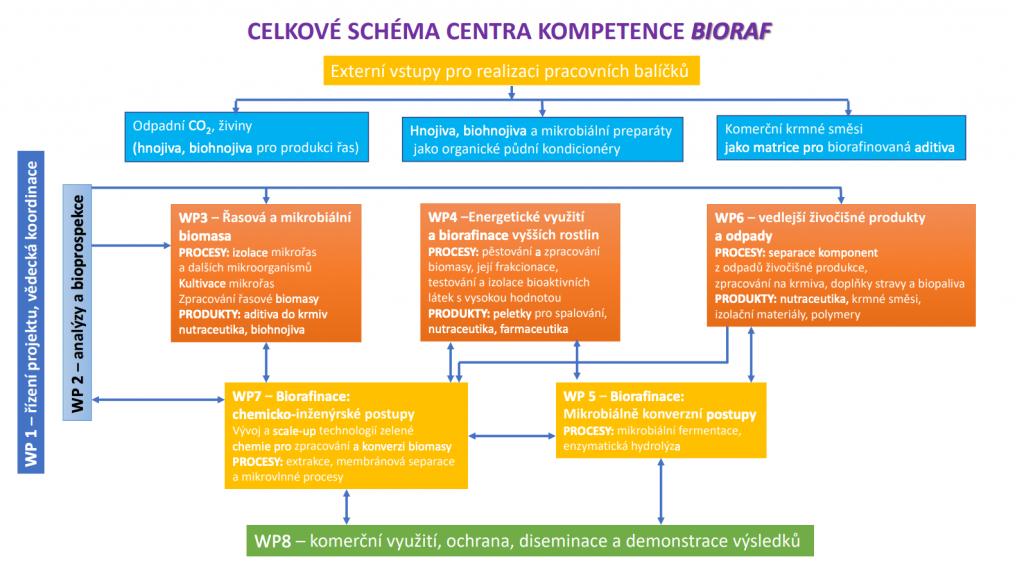 Schema Centra kompetence BIORAF